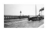 A Steamer Departing from Trouville for Le Havre, France, C1920S Giclee Print