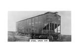 Steel Grain Car, Canada, C1920S Giclee Print