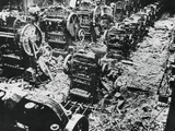 Bomb Damage at a Renault Factory, Sevres, Paris, 4 April 1943 Photographic Print