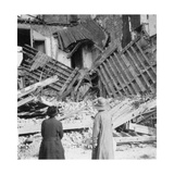 House Destroyed by a Bomb, Armentières, France, World War I, C1914-C1918 Giclee Print by  Nightingale & Co