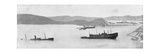 Sunken Japanese Ships, Russo-Japanese War, 1904-5 Giclee Print