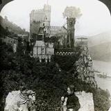 Castle Rheinstein, Near Bingen, Germany Photographic Print