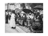 Rope Tobacco Sellers, Jamaica, C1905 Giclee Print by Adolphe & Son Duperly