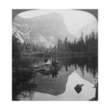 View of Mirror Lake, Looking Towards Mount Watkins, Yosemite, California, USA, 1902 Giclee Print by  Underwood & Underwood