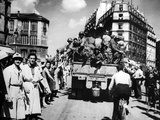 The Liberation of Paris, August 1944 Photographic Print