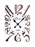 Clock Print by  Roccocola