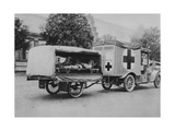 A German Ambulance, Eastern Front, World War I, 1915 Giclee Print