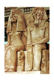 Statue, Amenophis III, Egypt, 18th Dynasty Giclee Print