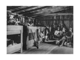 German Soldiers in a Reduit Shelter, Vosges, France, World War I, 1916 Giclee Print