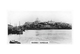 Quebec Harbour, Canada, C1920S Giclee Print