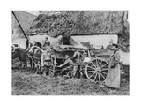 Bavarian Mobile Field Telephone Unit, World War I, 1915 Giclee Print