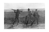 Russian Soldier Assaulting His Retreating Comrade, Ternopil, Ukraine, First World War, 1 July 1917 Giclee Print