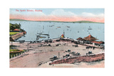 The Apollo Bunder, Bombay, India, Early 20th Century Giclee Print