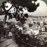 Looking South-East from the Pine Crowned Heights of Suwa-Yama over Kobe, Japan, 1904 Photographic Print