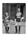 A Trooper and Trumpeter of the Royal Horse Guards, 1896 Giclee Print