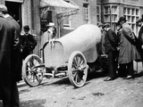 Baron Henri De Rothschild's 40 Hp Mercedes, 1902 Photographic Print
