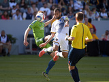 MLS: Seattle Sounders FC at LA Galaxy Photo by Kirby Lee