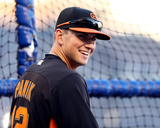 World Series Media Day & Workout: Joe Panik of the San Francisco Giants Photo by  Elsa