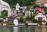 Houses of Hallstatt in Austria Photographic Print by  fischers