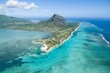 Aerial Mauritius Fotodruck von  Sapsiwai