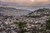 Tramonto a Quito Photographic Print by  tommypic
