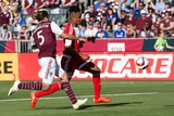 MLS: New England Revolution at Colorado Rapids Photo by Isaiah J Downing