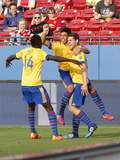 MLS: Colorado Rapids at FC Dallas Prints by Matthew Emmons