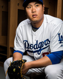 Los Angeles Dodgers Photo Day Photo by Rob Tringali