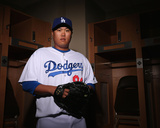 Los Angeles Dodgers Photo Day Photo by Christian Petersen