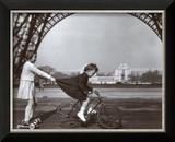 Le Remorqueur du Champ de Mars Prints by Robert Doisneau