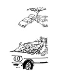 Cartoon Giclee Print by George Booth