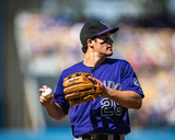 Colorado Rockies V. Los Angeles Dodgers Photo by Paul Spinelli