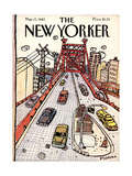 The New Yorker Cover - May 17, 1982 Premium Giclee Print by Douglas Florian