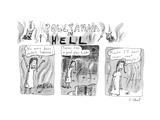 Pollyanna in Hell. - New Yorker Cartoon Premium Giclee Print by Roz Chast