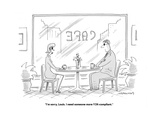 """""""I'm sorry, Louis. I need someone more Y2K-compliant."""" - Cartoon Premium Giclee Print by Mick Stevens"""
