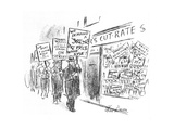 New Yorker Cartoon Premium Giclee Print by Alan Dunn