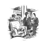 """Sold!"" - New Yorker Cartoon Reproduction procédé giclée par Jr., Whitney Darrow"