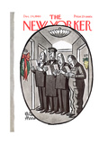 The New Yorker Cover - December 24, 1960 Premium Giclee Print by Peter Arno