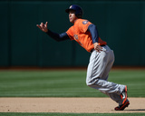 Houston Astros Vs. Oakland Athletics Photo by Brad Mangin