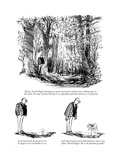 New Yorker Cartoon Premium Giclee Print by Charles Saxon