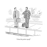 """I lined the pockets myself."" - New Yorker Cartoon Premium Giclee Print by Danny Shanahan"
