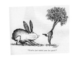 """""""You've just raided your last patch!"""" - New Yorker Cartoon Regular Giclee Print by Edward Koren"""