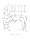 """That's just the booze listening.""  - New Yorker Cartoon Premium Giclee Print by Paul Noth"