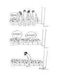 New Yorker Cartoon Premium Giclee Print by Mischa Richter