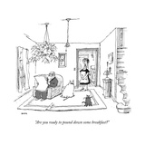 New Yorker Cartoon Premium Giclee Print by George Booth