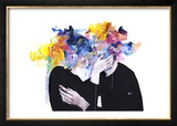 Intimacy on Display Poster by Agnes Cecile