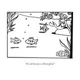 New Yorker Cartoon Premium Giclee Print by Bruce Eric Kaplan