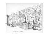 """""""I've lost track of the story."""" - New Yorker Cartoon Premium Giclee Print by James Stevenson"""