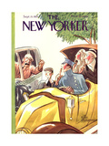 The New Yorker Cover - September 15, 1928 Premium Giclee Print by Peter Arno