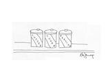 New Yorker Cartoon Premium Giclee Print by Roz Zanengo